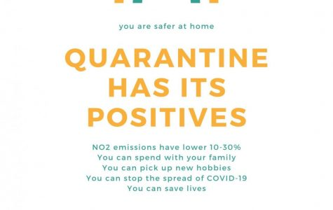 A bright side during depressing times: How being quarantined can benefit the world and ourselves
