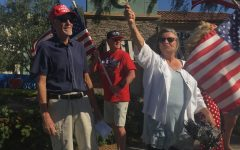 Hundreds gather to protest stay-at-home orders
