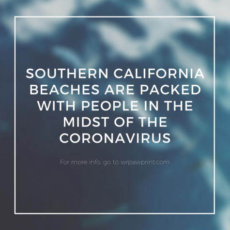 Southern California beaches are packed with people in the midst of the coronavirus