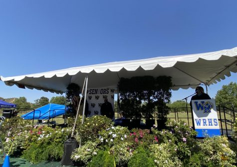 West Ranch High School holds a drive-thru graduation to honor the Class of 2020