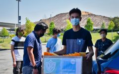 West Ranch students provide face shields for school faculty