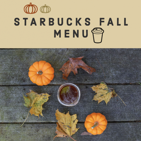 Starbucks reveals a new fall menu for the changing weather