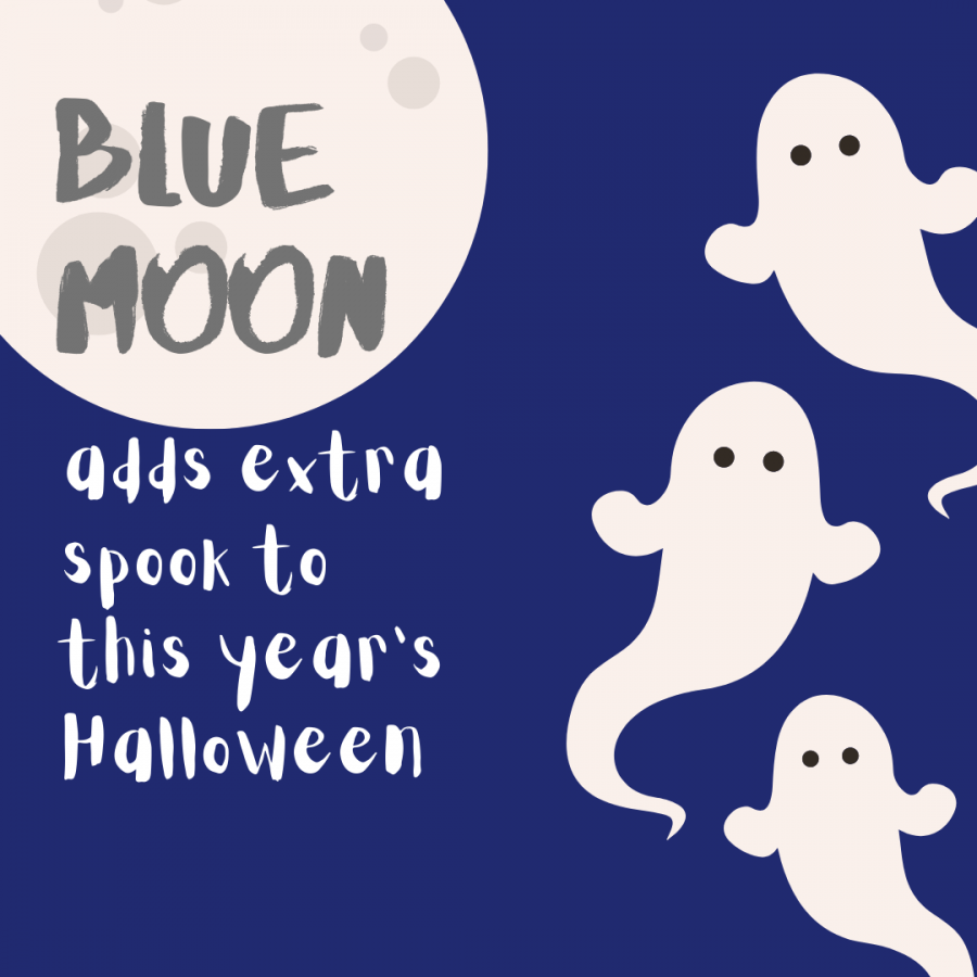 Blue moon adds extra spook to this year's Halloween
