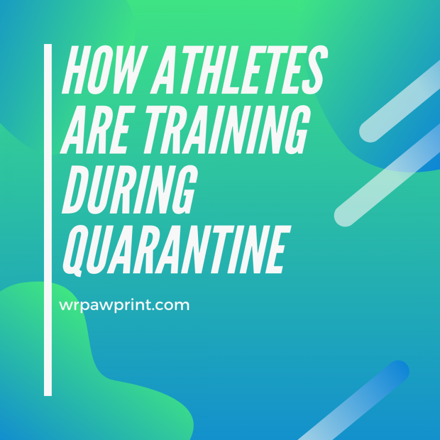 How athletes are training during quarantine