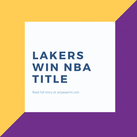 Los Angeles Lakers win 2020 NBA Championship