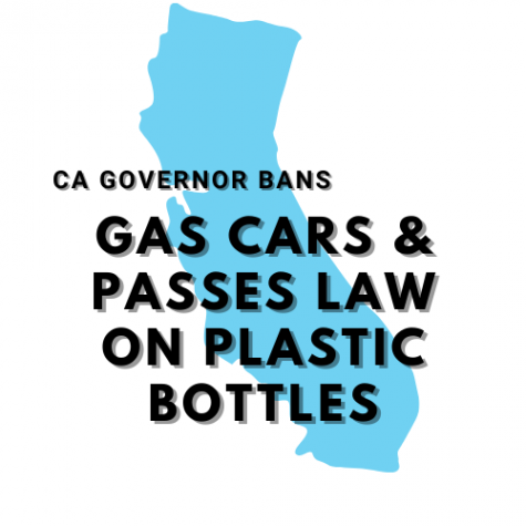 CA governor bans gas cars and passes law on plastic bottles