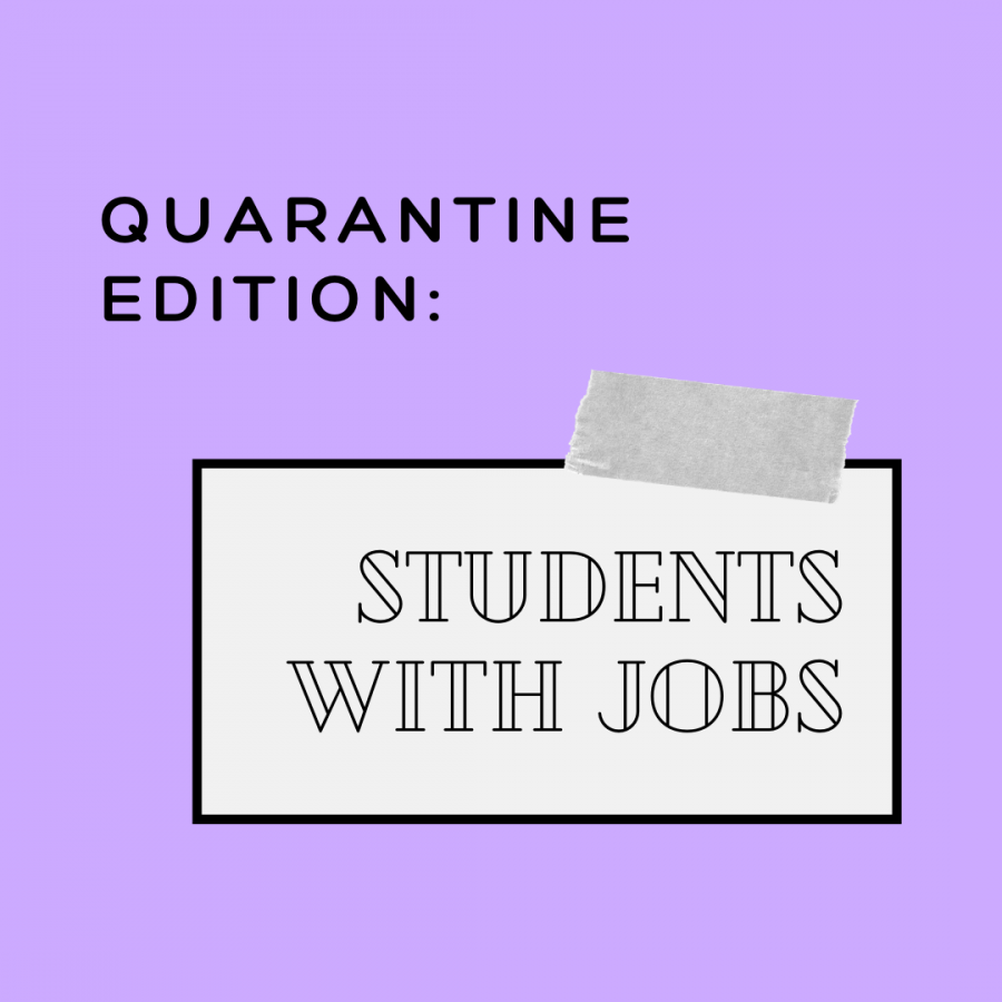 Young and employed: students working in quarantine