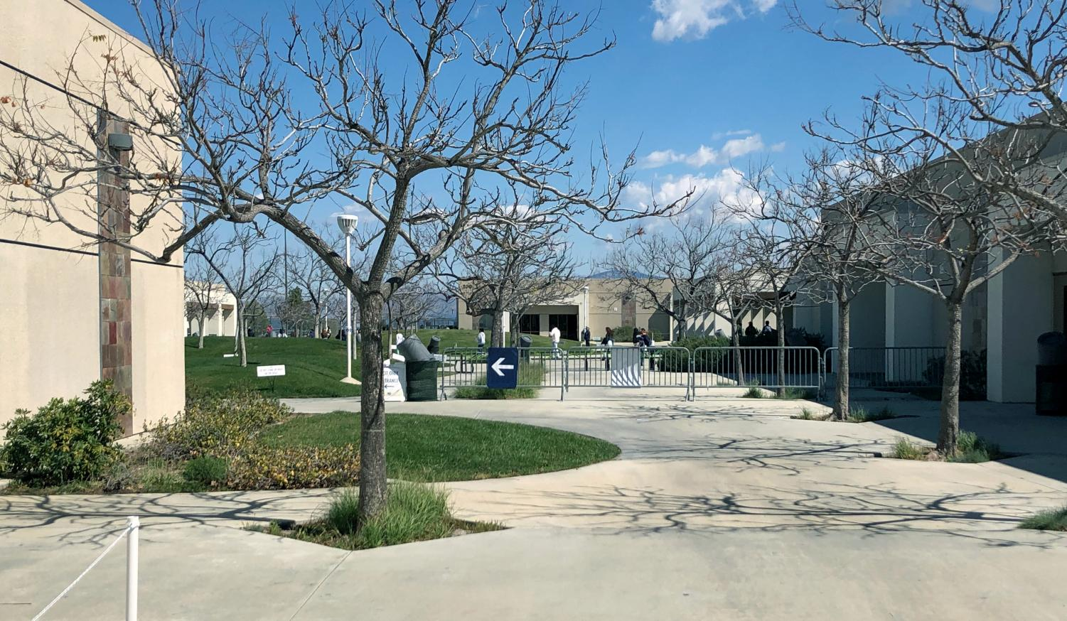 West Ranch enters hybrid learning bringing students back to campus.