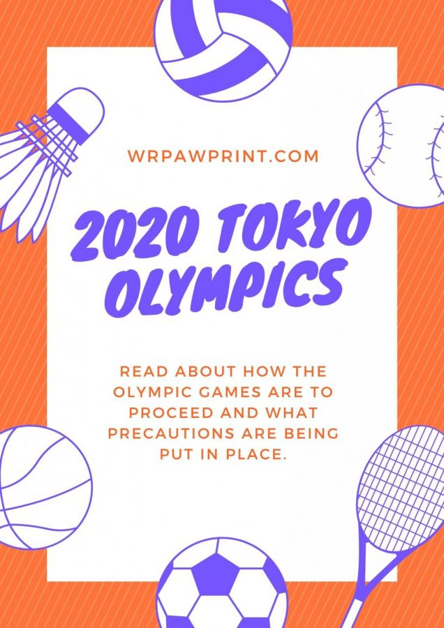 Plans for the 2020 Tokyo Olympics