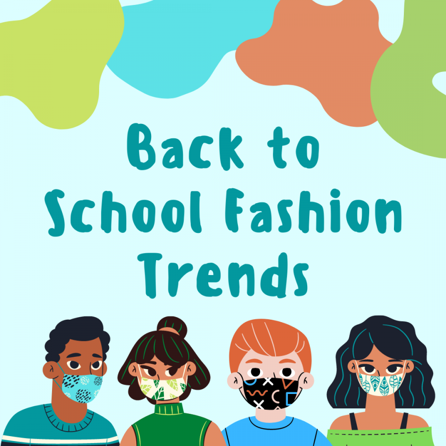 Hybrid students showcase their favorite fashion trends while transitioning back to school