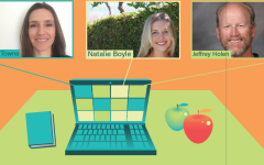 West Ranch teachers transition to hybrid format from teaching completely online throughout most of this school year
