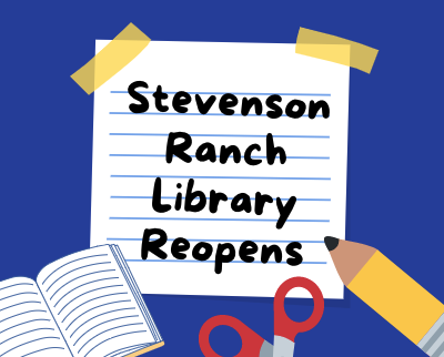 The Stevenson Ranch Library reopens after closure for over a year