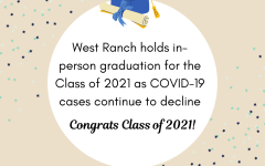 West Ranch holds in-person graduation for the Class of 2021 as COVID-19 cases continue to decline