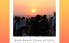 West Ranch Class of 2022 Seniors welcome the start of their last high school year at the Senior Sunrise